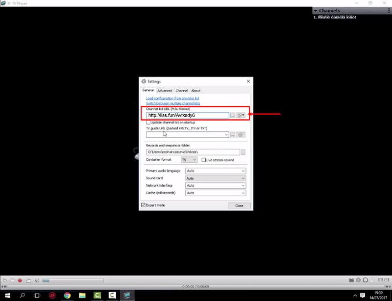 Como configurar IPTV Player