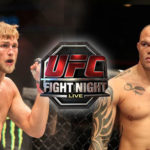 UFC Fight Night: Gustafsson vs Smith – sáb. 01 jun. 2019 – Veja como assistir!